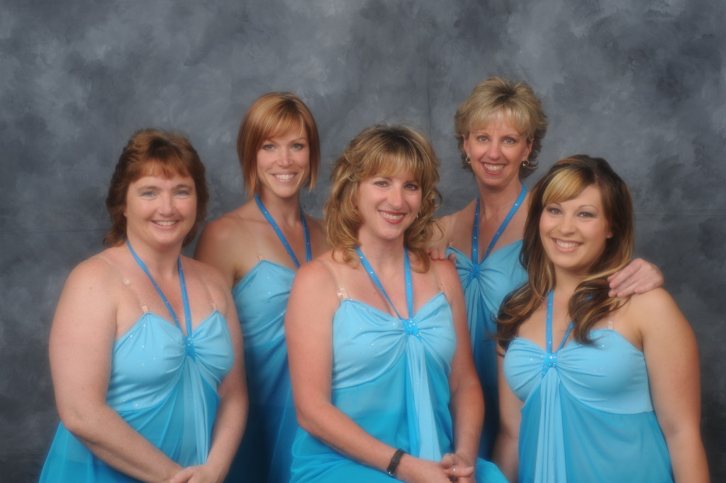 """Driven to Dance, A California Road Trip"" 2008 Our faculty: Liz, Elaine, Tude, Wendy, Alisha"