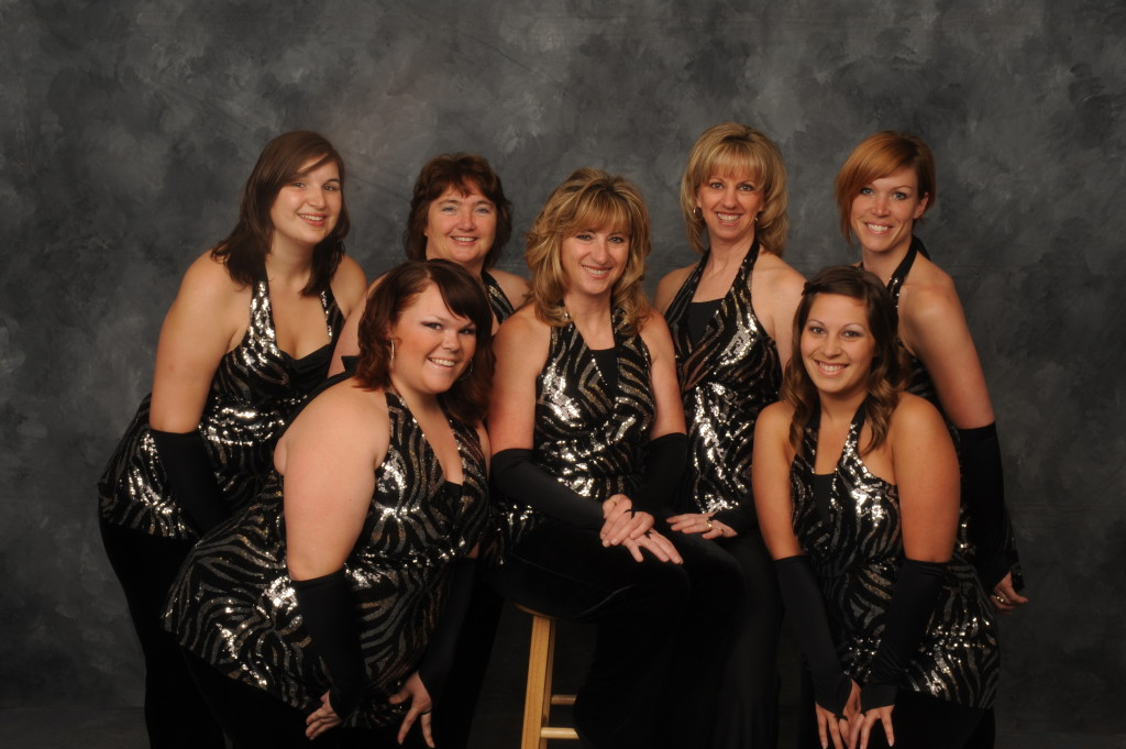 """Viva Las Vegas"", 2010 Faculty, Back Row: Laural, Liz, Tude, Wendy, Elaine Front Row: Nicole, Alisha"