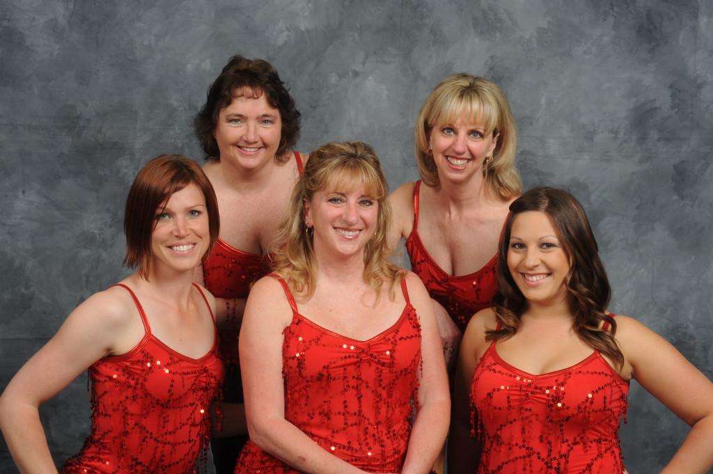 """Once Upon a Dance"" 2011 Faculty, Back row: Liz, Wendy Front Row: Elaine, Tude, Alisha"